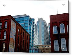 Broadway Nashville Tn Acrylic Print by Susanne Van Hulst