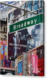 Broadway Times Square New York Acrylic Print