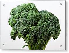 Broccoli Acrylic Print by Robert Ullmann