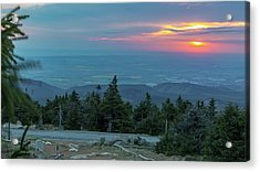 Brocken, Harz - Just After Sunrise Acrylic Print