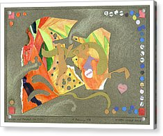 Broken And Mended Acrylic Print by Eileen Hale
