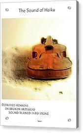 Broken Arpeggio  Acrylic Print by Steven Digman
