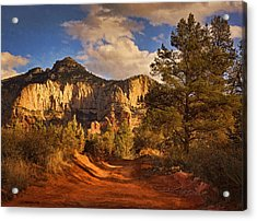 Broken Arrow Trail Pnt Acrylic Print