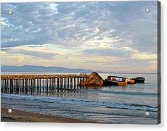 Broken Boat, Ss Palo Alto Acrylic Print