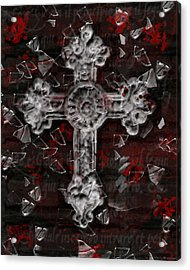 Broken Faith Acrylic Print