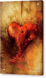 Broken Hearted Acrylic Print