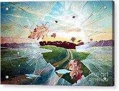 Broken Pane Acrylic Print