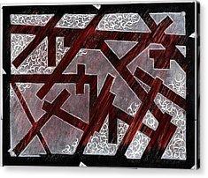 Broken Skin Acrylic Print by Nathaniel Hoffman