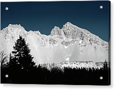 Broken-top Moon Glow Acrylic Print by Arthur Fix