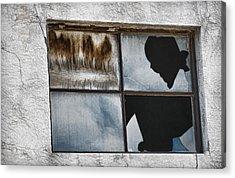 Broken Window Broken Glass Acrylic Print