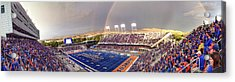 Bronco Stadium Panoramic Acrylic Print by Lost River Photography