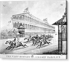 Bronx: Horse Race, 1866 Acrylic Print by Granger