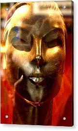 Bronzed 3 Acrylic Print by Jez C Self
