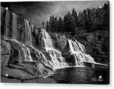 Brooding Gooseberry Falls Acrylic Print