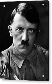 Brooding Portrait Of Adolf Hitler Heinrich Hoffman Photo Circa 1935 Acrylic Print