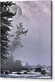 Brooding River Acrylic Print