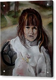 Brooke Acrylic Print by Diana Moya