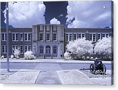 Brookland-cayce Hs-ir Acrylic Print by Charles Hite