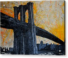 Brooklyn Bound  Acrylic Print by Anthony Jensen