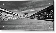 Brooklyn Bound Acrylic Print by David Hahn