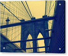 New York City's Famous Brooklyn Bridge Acrylic Print