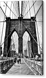 Brooklyn Bridge 2 Acrylic Print by Andrew Dinh