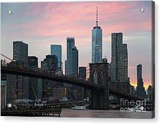 Brooklyn Bridge New York Acrylic Print