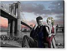 Brooklyn Bridge Acrylic Print by Chris Consani