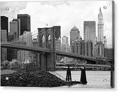 Brooklyn Bridge I Acrylic Print