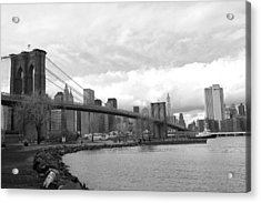Brooklyn Bridge II Acrylic Print