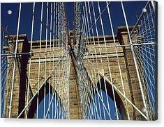 Brooklyn Bridge New York City - Architecture Acrylic Print by Art America Online Gallery