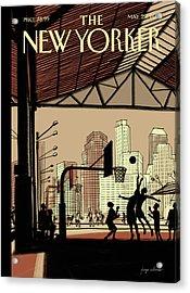 Brooklyn Bridge Park Acrylic Print
