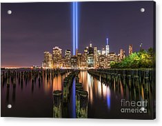 Brooklyn Sticks September 11th Memorial  Acrylic Print