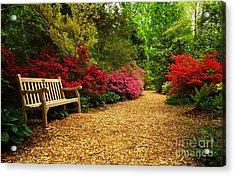 Brookside Gardens Acrylic Print
