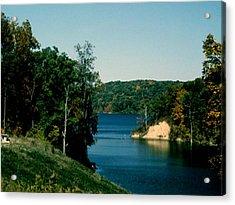 Brookville Lake Brookville Indiana Acrylic Print by Gary Wonning