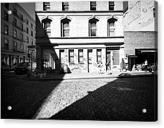 Acrylic Print featuring the photograph Broome Street Nyc by Dave Beckerman