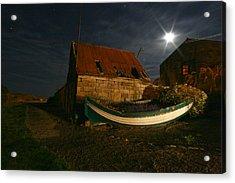 Brora Boat House Acrylic Print