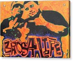 Bros 4 Life Acrylic Print by Ottoniel Lima