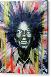 Brother Black... Mcmlxxv Acrylic Print by Brandon Coley
