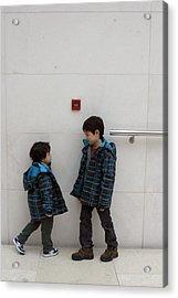 Brotherly Love 2 Acrylic Print by Jez C Self