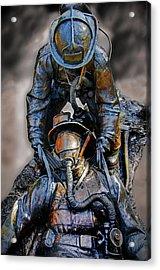 Brothers II Acrylic Print by Susan McMenamin