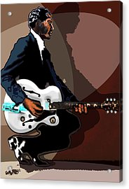 Brown Eyed Handsome Man-chuck Berry Acrylic Print