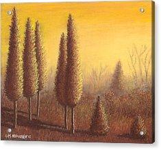 Brown Trees 01 Acrylic Print