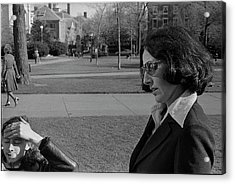 Brown University Student And His Mother, 1975 Acrylic Print