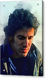 Bruce Springsteen Acrylic Print by Brian Tones