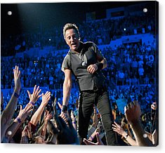 Bruce Springsteen La Sports Arena Acrylic Print by Jeff Ross