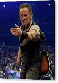 Bruce Springsteen. Pittsburgh, Sept 11, 2016 Acrylic Print