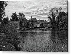 Bruges Bw1 Acrylic Print