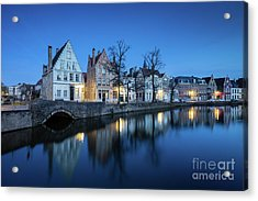 Magical Brugge Acrylic Print by JR Photography