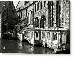 Bruges Medieval Architecture Acrylic Print